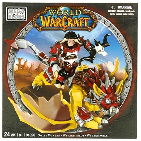 Mega Bloks Mega Bloks World Of Warcraft Swift Wyvern Renkli